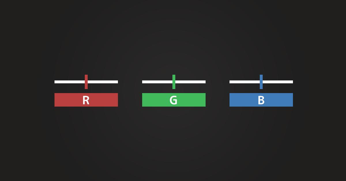 【Vue.js】RGBをデータバインディングさせて簡易カラーストックツールを作ってみた