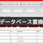 【WordPress】DBの置換には「Search Replace DB」を使おう